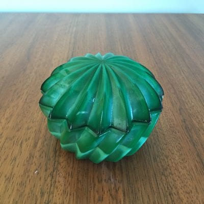 Czech Malachite Trinket Box