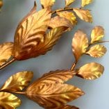 Magnolia Wall Scone detail flowers