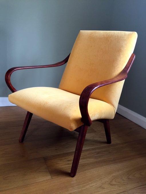 Mid Century Czech Lounge Chair