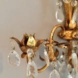 Crystal Wall sconce detail