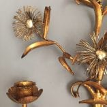Daisy wall sconce detail 2