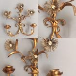 Daisy wall sconce detail 4