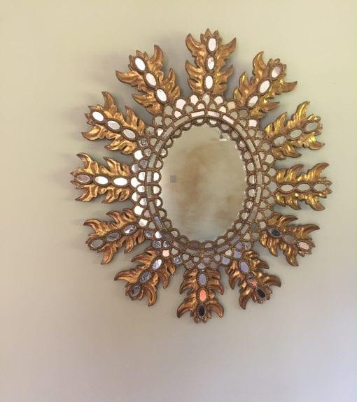 Extra Large Spanish Mirror