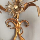 daisy wall sconce detail 3
