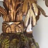 Majolica lamp 2