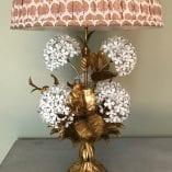 Hydrangea Lamp Shade Ikat 7
