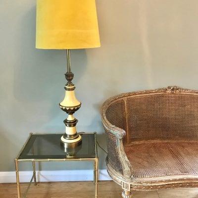 Giltwood Sofa lamp