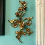 FLoral Wall Sconce detail 5
