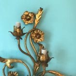 Floral Wall Sconce Detail 9