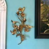 Floral Wall Sconce detail 4