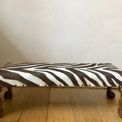 Zebra stool main