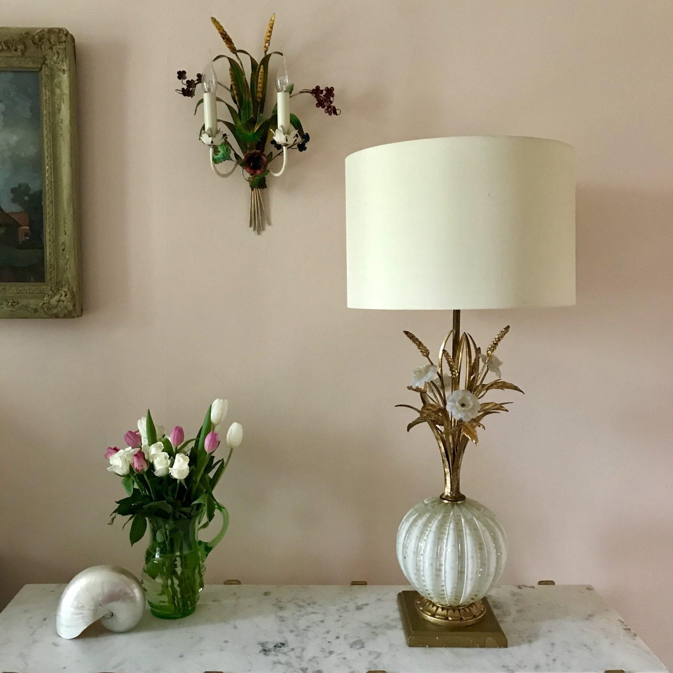 Barovier toso murano table lamp murano light main aloadofball Images