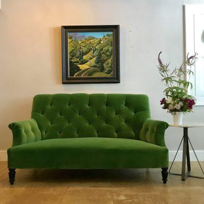 19C green sofa 1