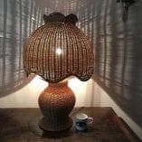 Rattan lamp 1