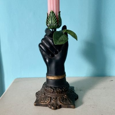hand candle 9