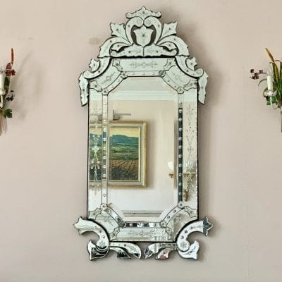 Large Venetian Mirror main