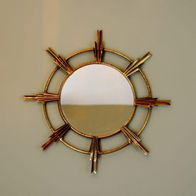 1960 Atomic Sputnik Retro Mirror