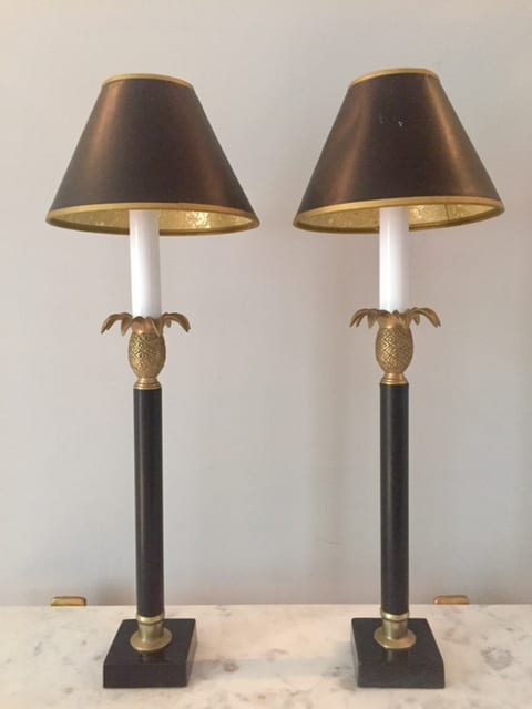 Pineapple lamps main