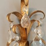 Crystal Wall Sconce detail 2