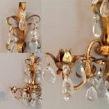 Crystal Wall Sconce trio