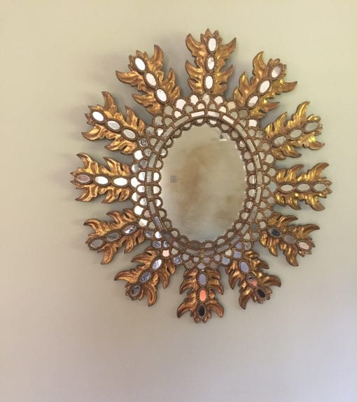 Extra Large Spanish Mirror