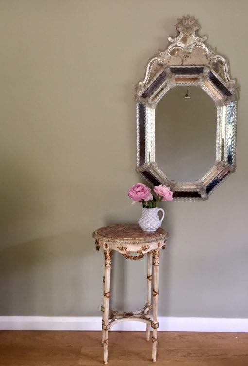 Murano Mirror and table