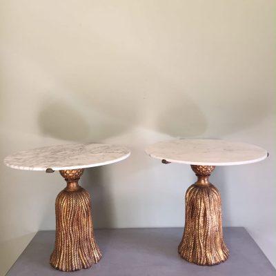 Palladio tables pair