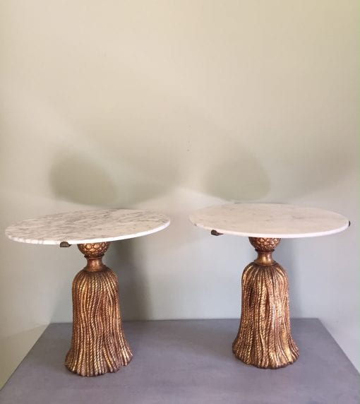 Palladio tables pair