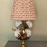 Hydrangea Lamp Ikat Shade 6