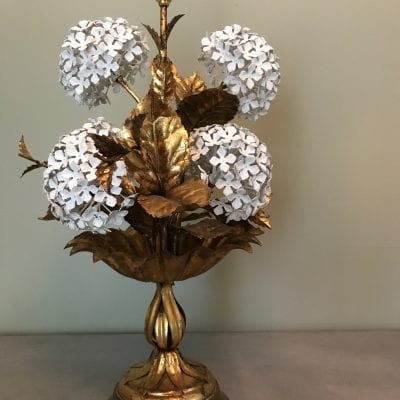 Hydrangea lamp 1