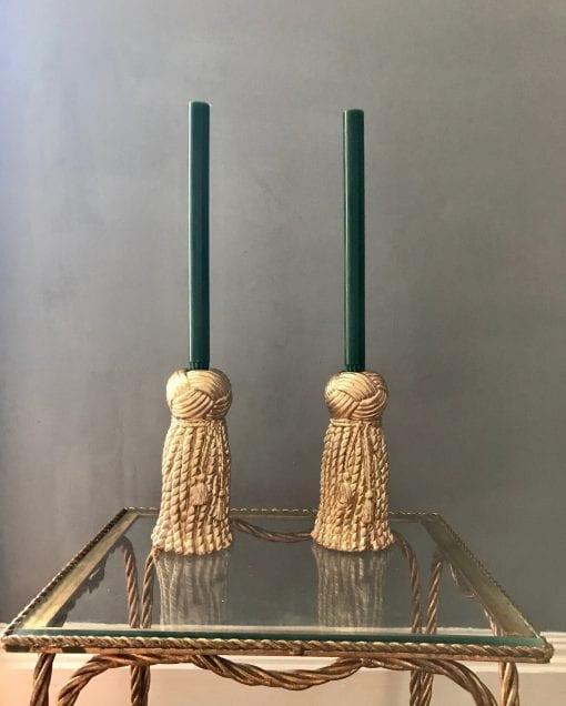 Tassel Candlesticks