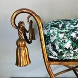 Gold Stool Cushion 5