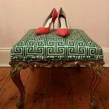 Green stool 9