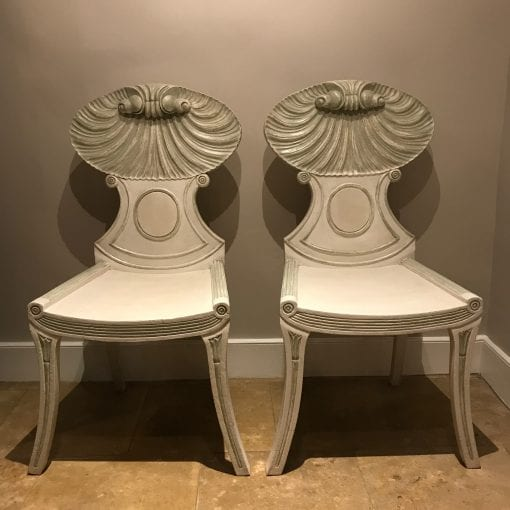 Shell Chairs Pair