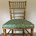 Greek Key chairs 4