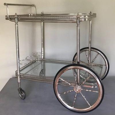 Silver trolley