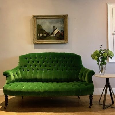 19 C Green Sofa Main
