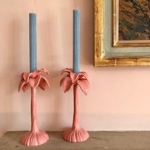 Pink Candlesticks