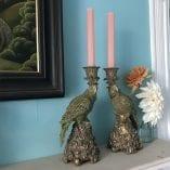Parrot candlesticks 2