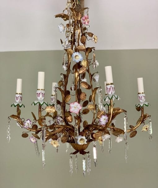 Floral chandelier main