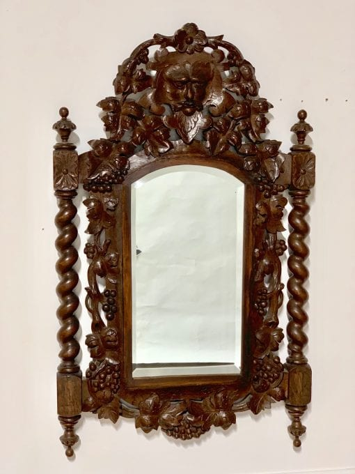 French Green Man mirror