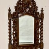 French Green man mirror 2