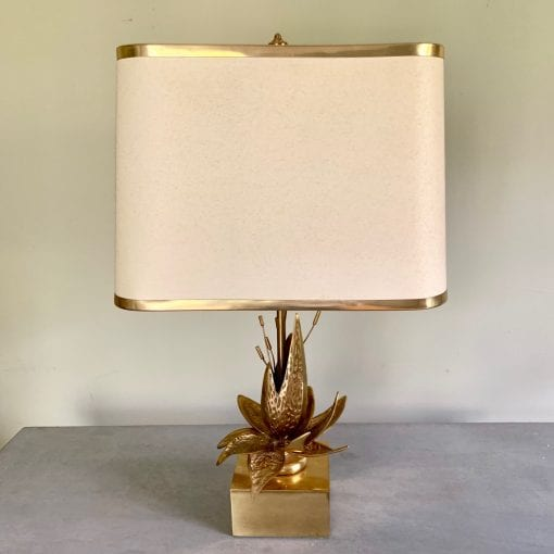 Lotus lamp square