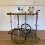 Drinks Trolley Marble 2