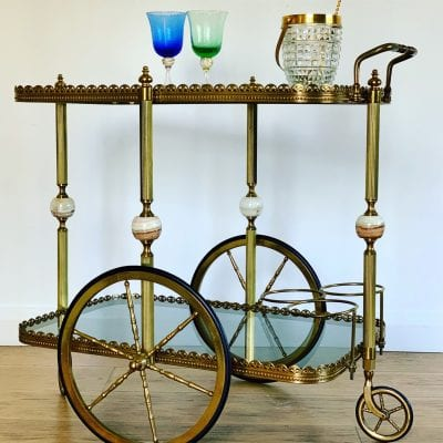Drinks Trolley Marble main