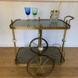 Drinks Trolley marble 4
