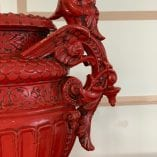 Red Vase 9