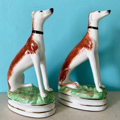 F&F Dog bookends 4