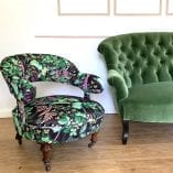 Strawberry Fields and Green Sofa