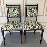 Pair of Leopard Chairs 2